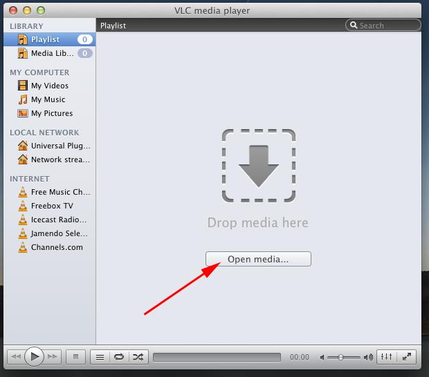 vlc pour mac 10.6.8