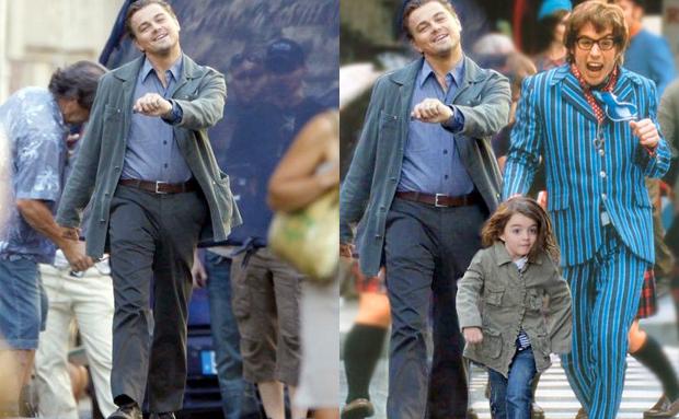 Leonardo Dicaprio Meme Walking