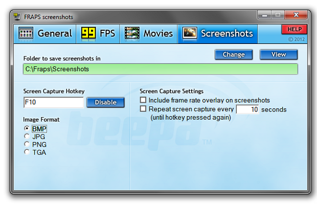 Configurações de screenshot (Foto: Reprodução/Helito Bijora)