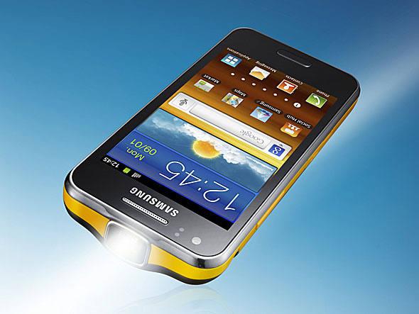 Galaxy Beam tem projetor embutido e custa R$ 999 (Foto: Divulgação)