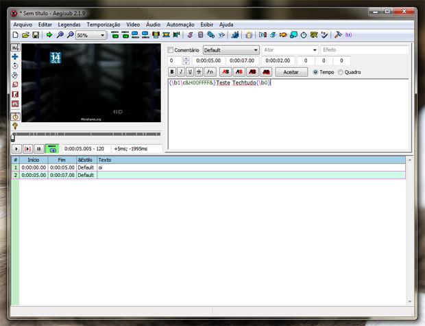 Como usar o Aegisub para inserir legendas em vídeos   Dicas