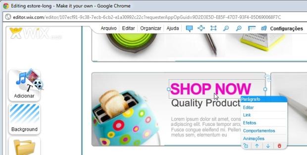 Personalize o conteúdo do seu site (Foto: Reprodução)