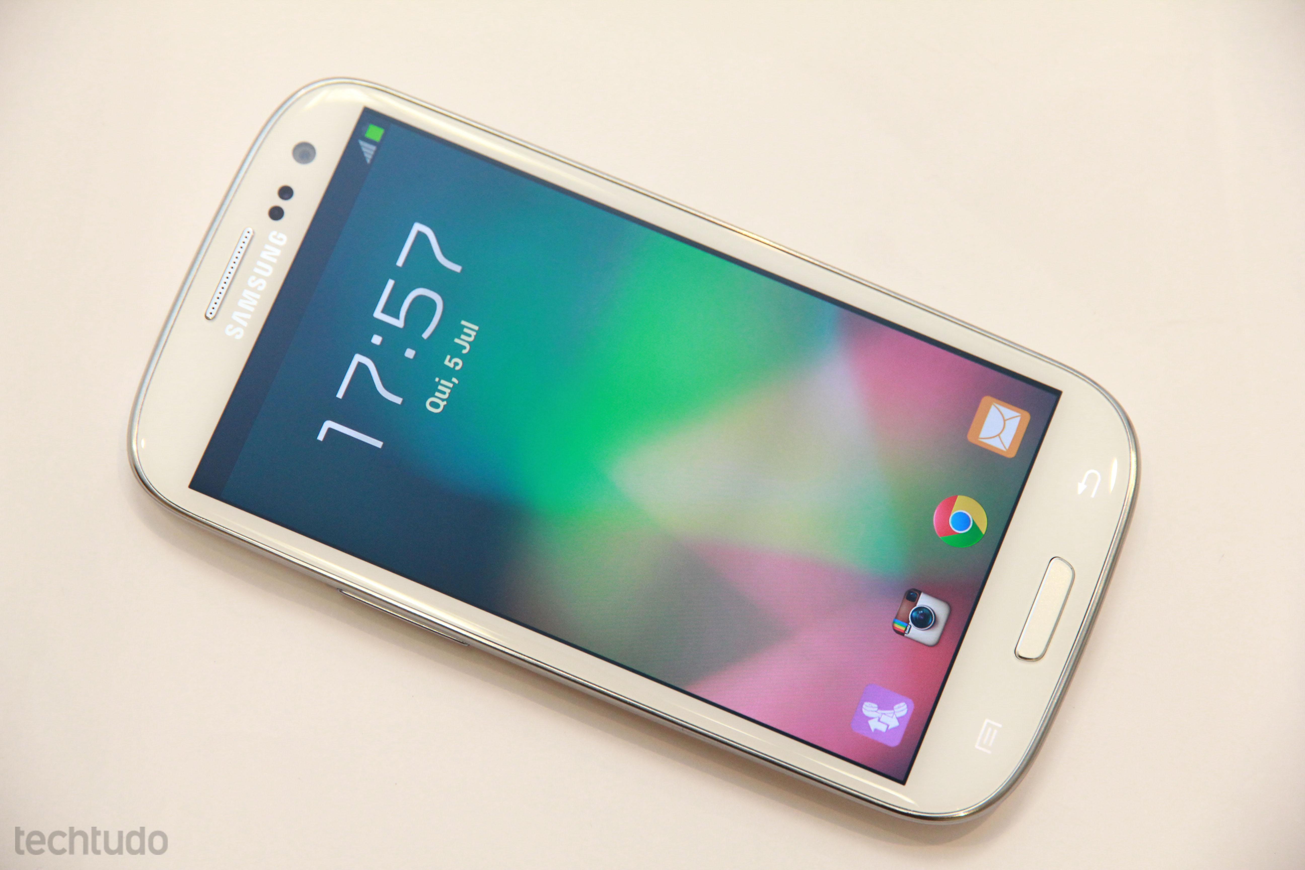 Samsung Galaxy S III (Foto: TechTudo/Allan Melo)