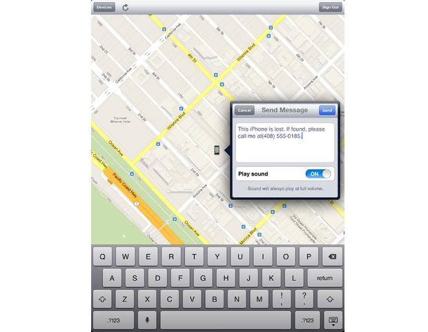 Find My iPhone (Foto: Divulgação)