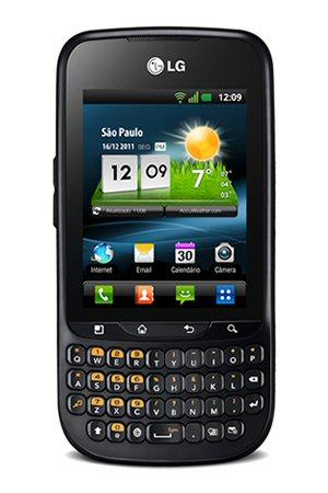 Smartphone C660 com teclado Qwerty (Foto: Divulgação)