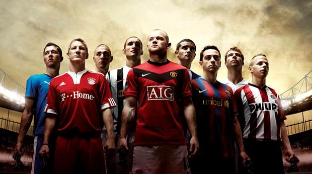 Jogadores de FIFA 12 (Foto  Divulgação) f16edc9bf2fdd