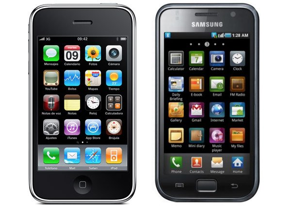 Samsung Galaxy S x iPhone 4 (Foto: Reprodução)