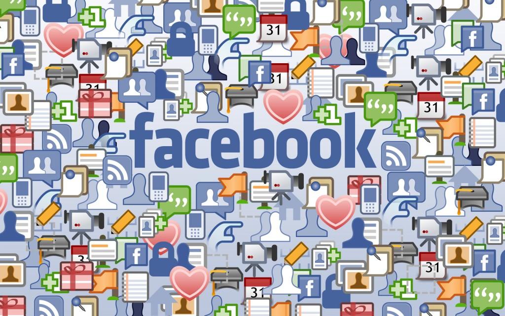 Mix de ícones do Facebok (Foto: reprodução)