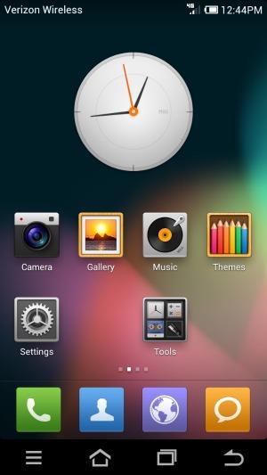 Interface MIUI ganhou update baseado no Jelly Bean (Foto: Reprodução)