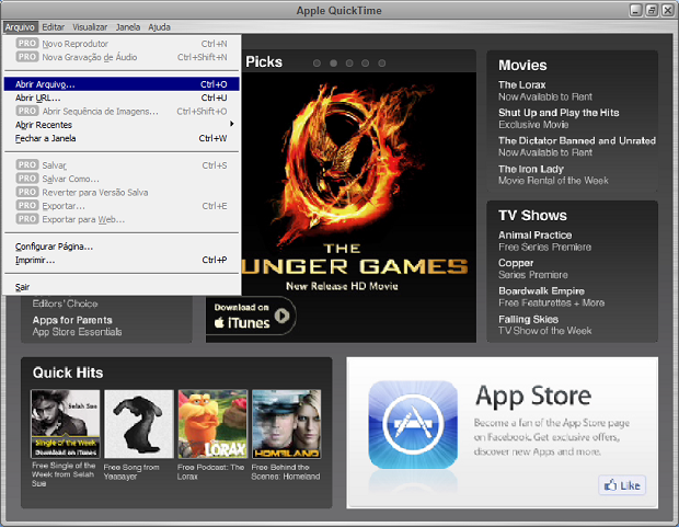 quicktime latest version 2012 for mac
