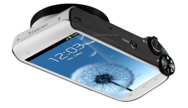 Câmera da Samsung seria baseada no Galaxy SIII (Foto: Reprodução)