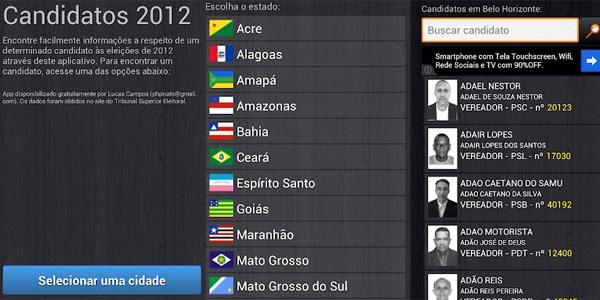 Candidatos 2012 (Foto: Reprodução)