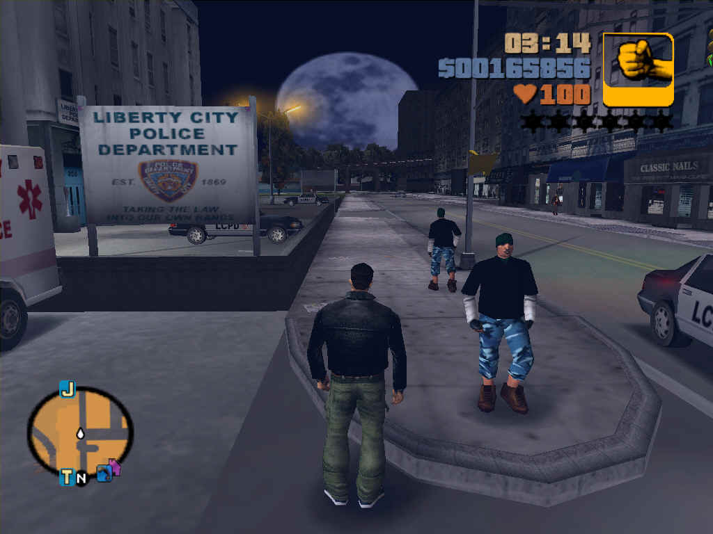 Torrent Games: Grand Theft Auto III(GTA3)