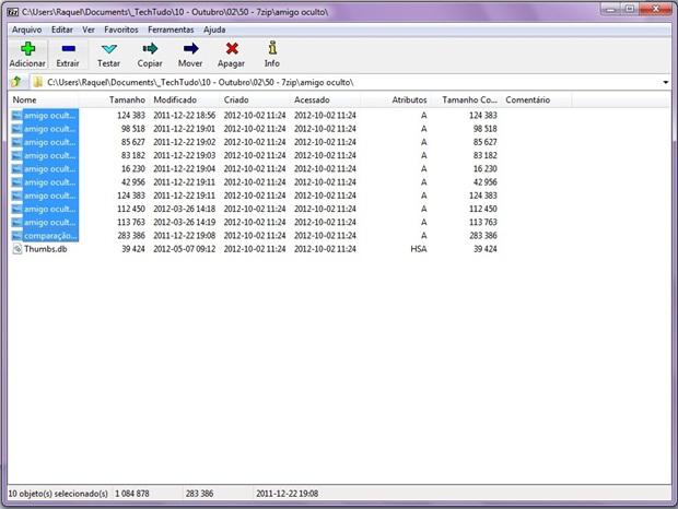 Como usar o 7-zip para compactar e descompactar arquivos