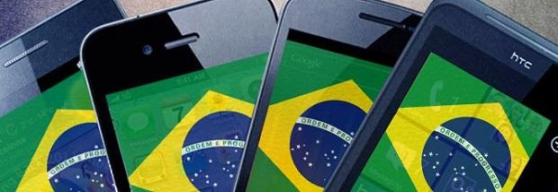 Smartphones são cada vez mais comuns no Brasil (Foto: Reprodução) (Foto: Smartphones são cada vez mais comuns no Brasil (Foto: Reprodução))