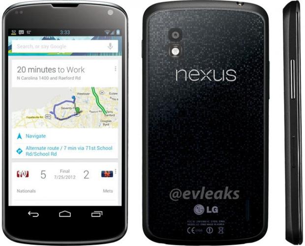 Fotos revelam aspecto final do novo Nexus 4, produzido pela LG (Foto: Reprodução)