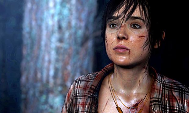 Ellen Page dá vida para a heroína de Beyond Two Souls (Foto: Divulgação)