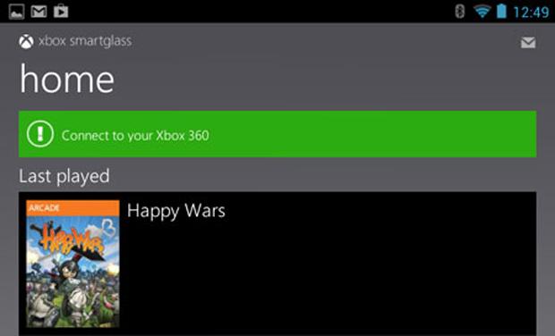 Com o aplicativo é possível navegar no Xbox 360 (Foto: Reprodução/Pocket Gamer)