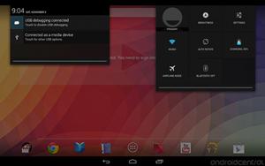 Exibição de ícones de atalhos em tablets (Foto: Reprodução/Android Central)