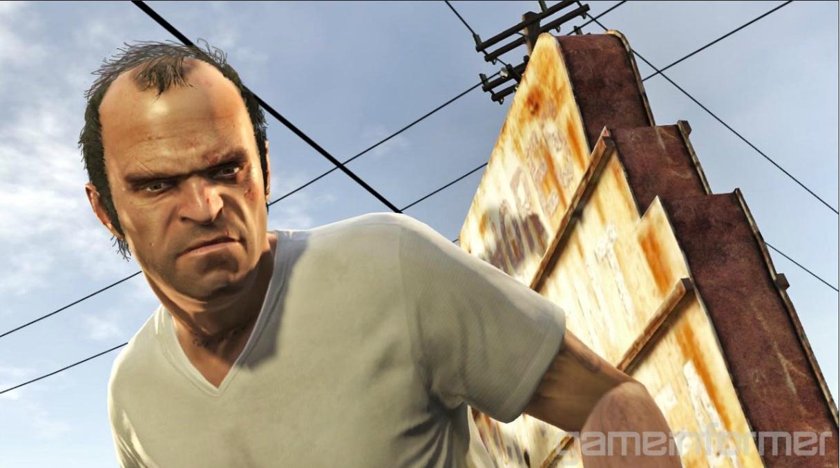 Trevor   233  um dos protagonistas de GTA 5  amigo de Michael e usu  225 rio    Gta 5 Trevor