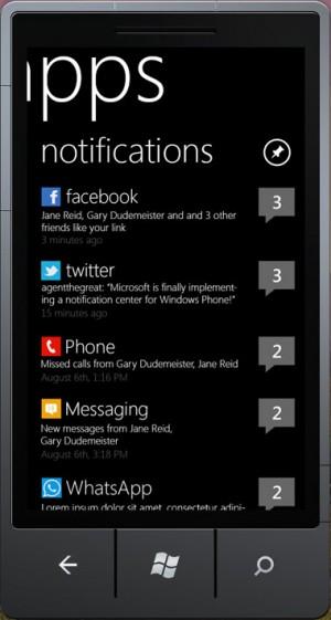 Hacker desenvolveu novo sistema de notificações para Windows Phone (Foto: Reprodução)