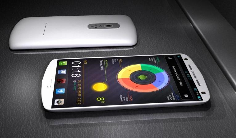 Conceito do Galaxy S4 da Samsung (Foto: Reprodução/Concept Phones) (Foto: Conceito do Galaxy S4 da Samsung (Foto: Reprodução/Concept Phones))