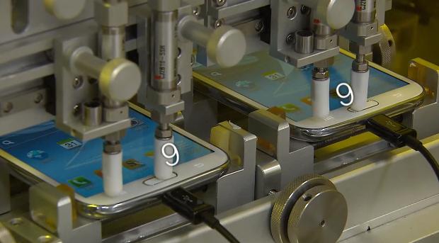 Teste de qualidade do Galaxy S3 foi revelado pela Samsung (Foto: Reprodução)