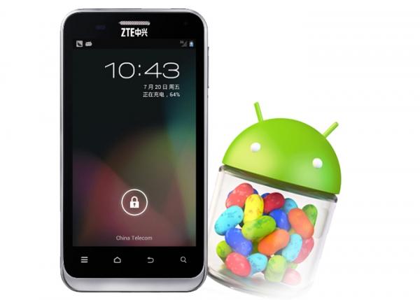 O ZTE N880E é um dos primeiros modelos a receber o Android 4.2, mas só na China (Foto: Reprodução/Mobile&Apps)