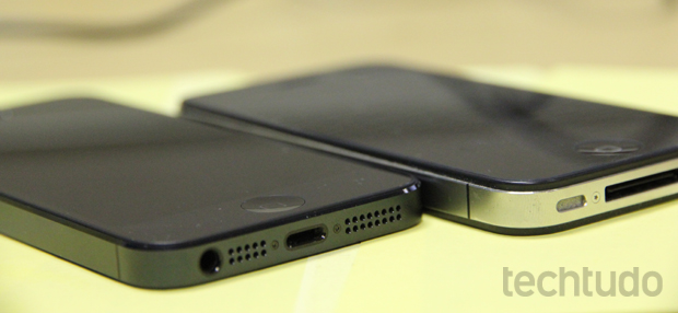 iPhone 5 contra iPhone 4S (Foto: Marlon Câmara/TechTudo)