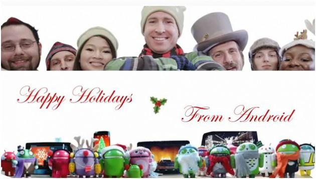 Google lança vídeo especial de Natal com Android (Foto: Reprodução)