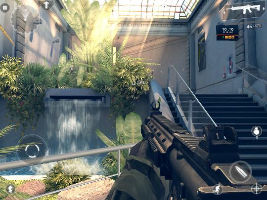 Modern Combat 4: Zero Hour tem um dos melhores gráficos para Android (Foto: Reprodução) (Foto: Modern Combat 4: Zero Hour tem um dos melhores gráficos para Android (Foto: Reprodução))