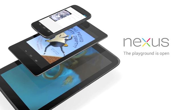 Google e LG preparam novos dispositivos Nexus para 2013 (Foto: Divulgação/Google)
