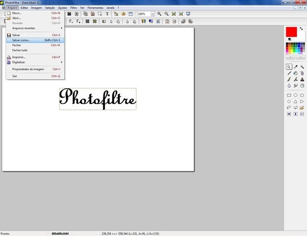 fontes para photofiltre 7