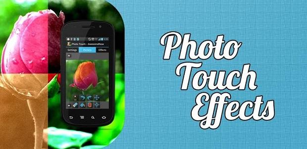 Photo Touch oferece efeitos muito interessantes para suas fotos (Foto: Divulgação)