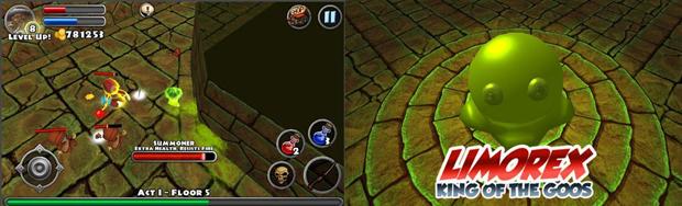 Dungeon Quest é um RPG em 3D muito divertido (Foto: Divulgação)