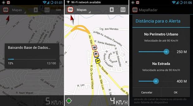 MapaRadar é muito funcional para motoristas (Foto: Divulgação)