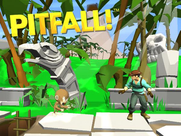 Pitfall recebeu um remake que reformula totalmente o clássico do Atari (Foto: Divulgação)