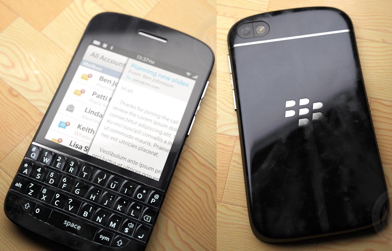 2c0114cbd5a Novo BlackBerry X10 com teclado QWERTY e tela touchscreen (Foto:  Reprodução/Nowhereelse)