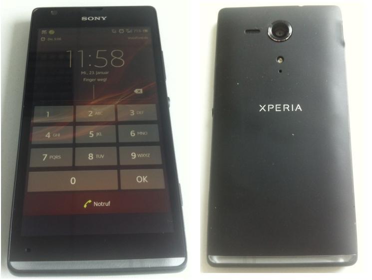 Xperia C5303, provável substituto para o Xperia S (Foto: Reprodução/PhoneArena)