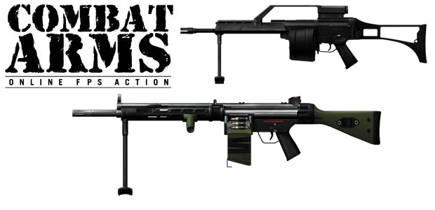 2e8b4f3cbfa Metralhadoras MG36 e MG21E Steel (Foto  TechTudo)