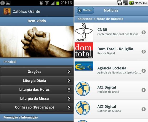 Catolico orante android emulator