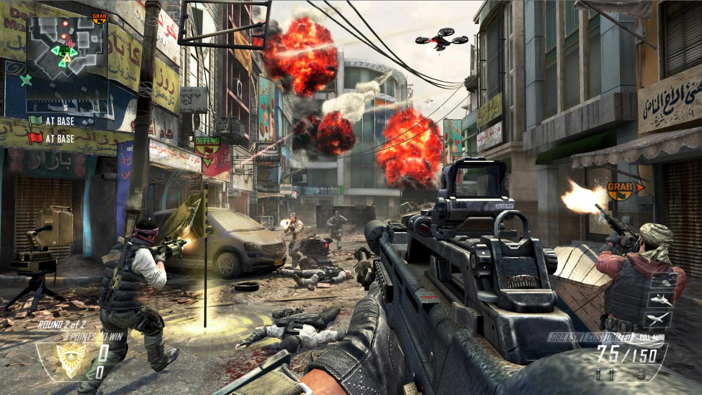 Black Ops 2 vai tornar ricos seus melhores jogadores (Foto: Divulgação)