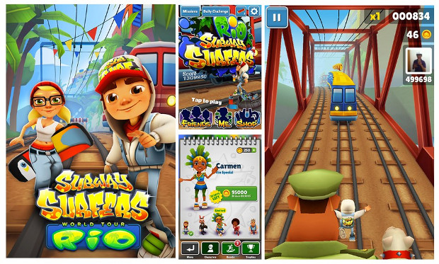 Subway surfers rio brasil v1. 59. 0 mod apk [ unlimited coins and.