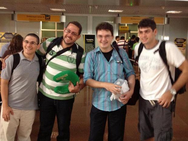 Equipe do Hand Talk partindo para o  WSA-Mobile (Foto: Reprodução)