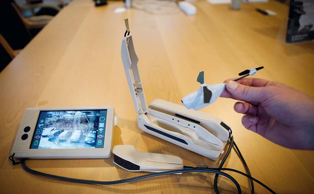 As imagens são transmitidas diretamente para o dispositivo que o controla (Foto: Divulgação/ Prox Dynamics)