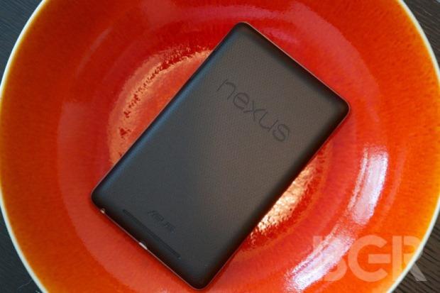 O visual no novo Nexus 7 (Foto: Reprodução/ BGR.com)