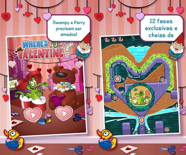 Where's My Valentine é a edição especial do dia de São Valentim (Foto: Divulgação)