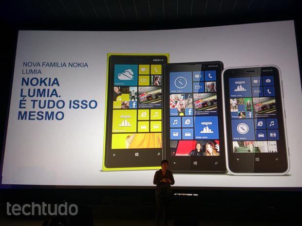 f5ab0466d60 Novos Lumia foram apresentados nessa quarta-feira (20), em São Paulo (