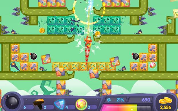 Yumby Smash abusa das cores pra trazer diversão para a tela do seu gadget (Foto: Divulgação)