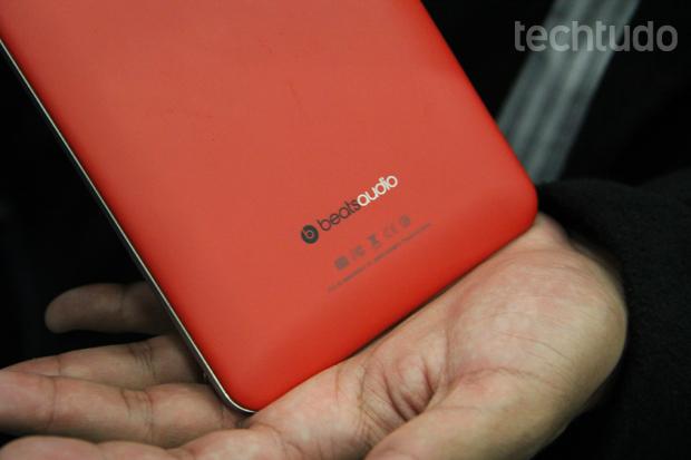 Tecnologia Beats Audio promete melhor reprodução de sons (Foto: Allan Melo/TechTudo)
